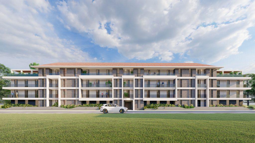 Appartementen Visualisatie 3D impressie